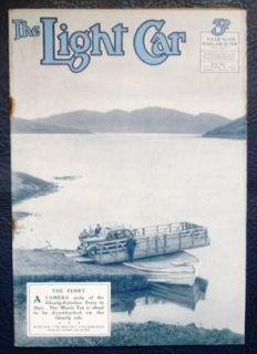 LIGHT CAR MAGAZINE   29 JUL 1938   AUSTINS FOR 1939, GARDNERS NEW M.G