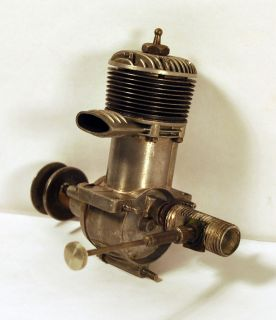 rare planedetective auctions vintage forster 29 model aircraft engine