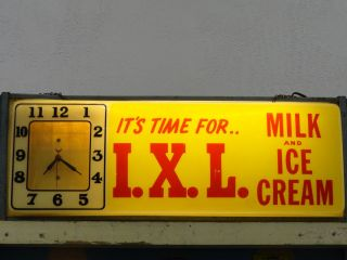 Friedens PA iXL Dairy Clock Pennsylvania