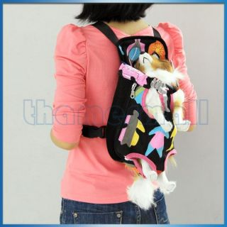 Hot Pet Dog Puppy Front Carrier Bag Back Backpack Rucksack Travel