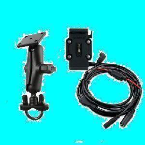 Garmin Zumo 660 665 Mounting Bracket w Power Cable Standard Ram U Bolt