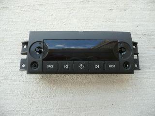 2007 2012 GM Sierra Silverado Tahoe Yukon Console Rear Radio Control