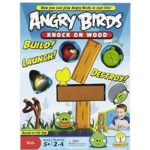Birds Knock On Wood Game New Board Games Toys NIB NWT Fun Childrens