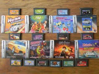 Lot of 14 Game Boy Advance Games