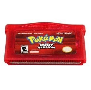 BOY GAMES POKEMON Ruby GAMEBOY ADVANCE SP DS GBA GAME BOY GAMES