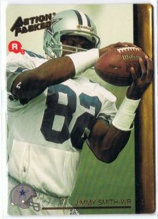 Jimmy Smith Dallas Cowboys 1992 Action Packed Rookie RC Card 30 L K