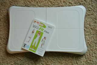 Wii Fit Plus Game and Balance Board Nintendo Wii