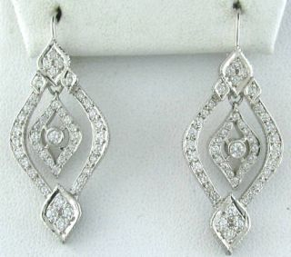 New Doris Panos 1 00ct Diamond Habibi Earrings $5830