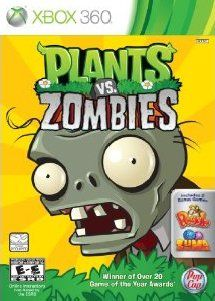 Xbox 360 Game Plants vs Zombies Mini Games Brand New