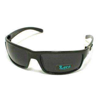Locs Sunglasses Gangster Cholo Shades Dark Black New