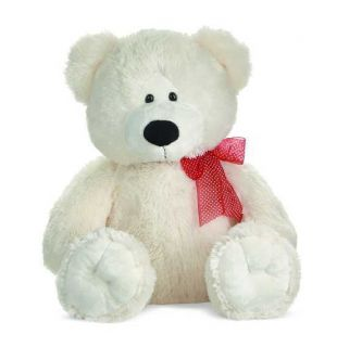 Ganz Large White Teddy Bear HV8707