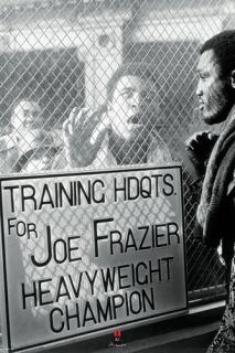 Muhammad Ali vs Joe Frazier Window Taunt 1971 Historic Boxing Poster
