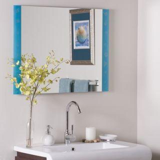 Frameless Spa Wall Mirror Modern Bathroom Designer