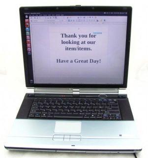 Fujitsu LifeBook N5010 Pentium 4 3 0GHz 1 5MB RAM 60GB HDD Laptop