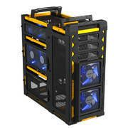 New New Antec Lanboy Air Yellow ATX Full Tower Case