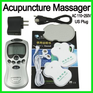 Digital LCD Therapy Acupuncture Full Body Massager Machine