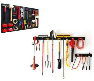 Hand Garden Tool Organizers Pegboard Garage Storage for Tools Crafts