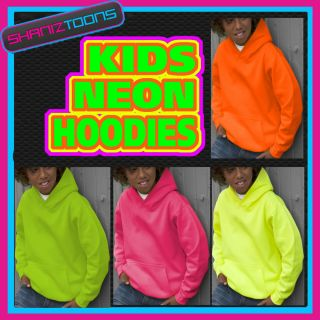 Love Heart Niall Horan Neon Fluorescent Bright Electric Kids Hoodie