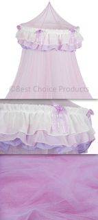 Bed Canopy Mosquito Netting Canopy Pink Princess Triple Bedding