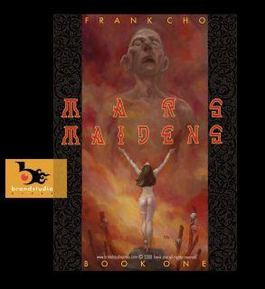FRANK CHO MARS MAIDENS HDCVR SEXY ART BOOK SIGNED LT ED DEJAH THORIS