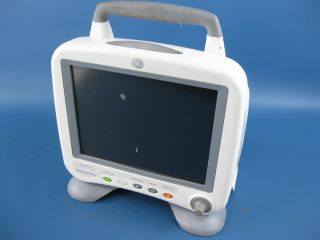 GE Portable Transport Pro Medical Display Patient Monitor 2020155 01