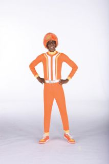 Yo Gabba Gabba DJ Lance Rock Costume Adult Medium New