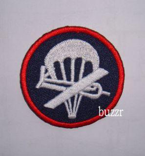 QUALITY WWII WW2 US AIRBORNE PARATROOPER GARRISON CAP BADGE INSIGNIA