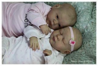 Reborn Gabriele Fagan baby girl lifelike doll