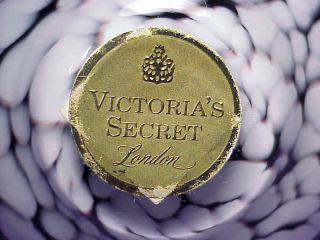 Victorias Secret London Glass Atomizer Perfume Bottle Squeeze Bulb