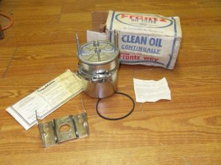 FRANTZ REMOTE OIL FILTER CHEVROLET OLDSMOBILE PONTIAC CHRYSLER HUDSON