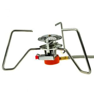 portable camping picnic steel stove cookout butane cook gas burner