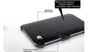 Samsung Galaxy Tab Crocodile Skin Cover Case 4 Colors