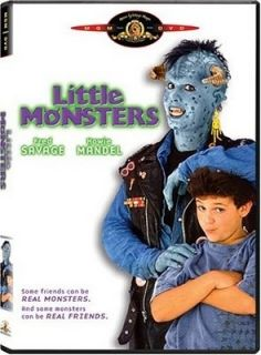 Little Monsters 1989 Fred Savage Howie Mandel New DVD 027616903891