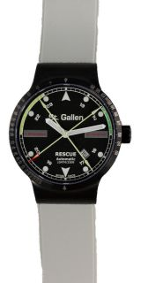 St Gallen RP1 Rescue Swiss Medical Watch Automatic Black