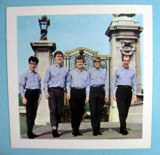 freddie and the dreamers u k 1964 mister softee card this is an