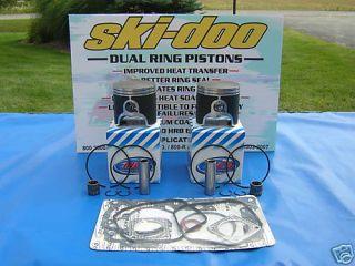 Ski Doo 800 Rev Piston Dual Ring MXZ GSX Summit Gade