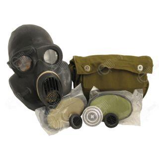 Genuine Russian Army Black PBF Gas Mask All Sizes Soviet Military