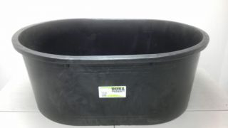 Heavy Duty 115 Gallon Plastic Oval Stock Tank Tub Livestock Gardening