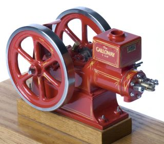 Galloway 1 8 Scale Hit Miss Engine Model Casting Kit