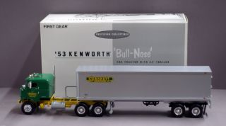 First Gear 1953 Kenworth Garrett Freightlines Bull Nose COE Tractor