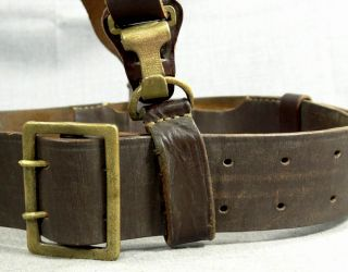 WW2 Germany German Army Officer Luger P08 Pistol Gun Holster Leather