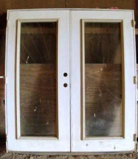 NEW Exterior Steel Solid Wood Core Door Entry System Double French