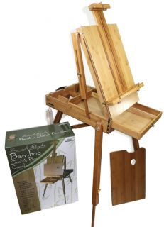 Eco Friendly Bamboo French Artist Easel, Premium Quality, New, Retail