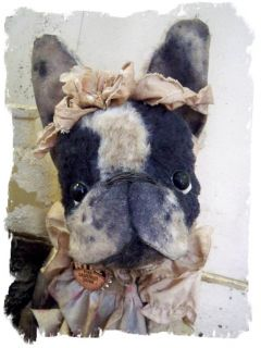 ★ Girl French Bulldog Frenchie Dog ★ by Whendis Bears