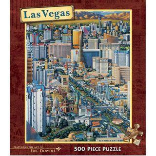 Eric Dowdle Las Vegas 500 Piece Puzzle