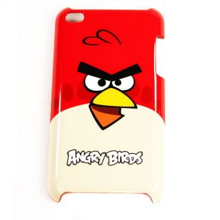 Gear4 TCAB401 Angry Birds Case For Apple iPod Touch 4th Gen Red