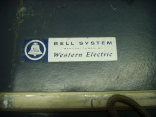 Old Bell Telephone Communication Western Electric Electronics Test