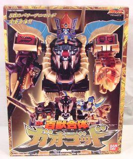 Gao God Japanese Sentai Megazord Power Rangers MIB
