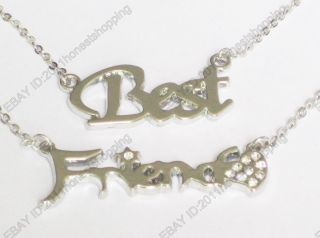 Best Friend Necklace Chain Accessory Present Gift Bracelet Ring Jewel