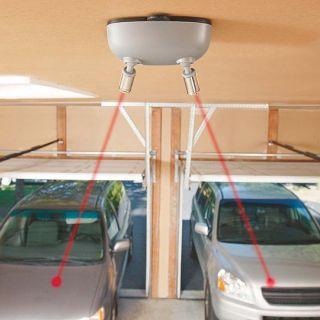 garage parking sensor stop sign flashing led stop light. Black Bedroom Furniture Sets. Home Design Ideas
